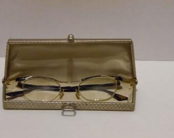 Vintage Women's Spectacles/Eyeglasses and Case Mid Century Eyewear