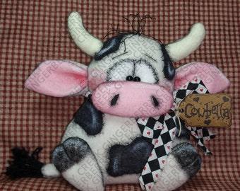 E-Pattern - Cowbella Pattern #172 - Primitive Doll/Ornie E-Pattern