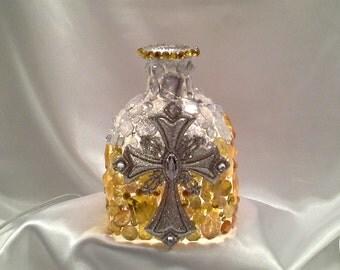 Cross Patron Lamp