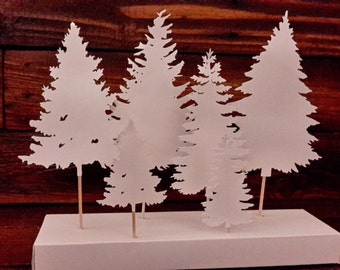 Christmas Pines Decoration