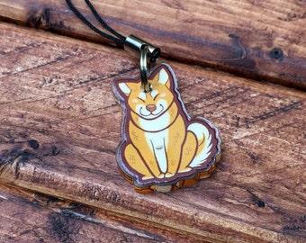 """1"""" Animal Charms - Shiba Inu"""