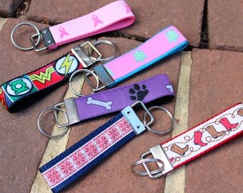 Everyday Keychain or Wristlet
