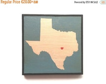 SALE US States Wall Art, Wall Decor, State Paintings on Wood
