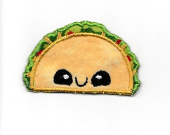 Happy Taco Patch! Custom Made! AP113
