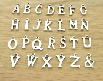 Add a Letter Alphabet Initial Charm