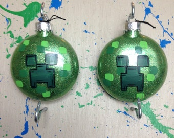 Minecraft Ornaments - Minecraft game - Minecraft gift - Personalized Christmas Ornaments