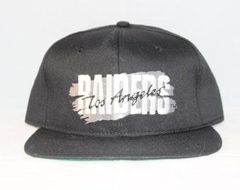 Vintage Deadstock Los Angeles Raiders New Era NFL Snapback Hat