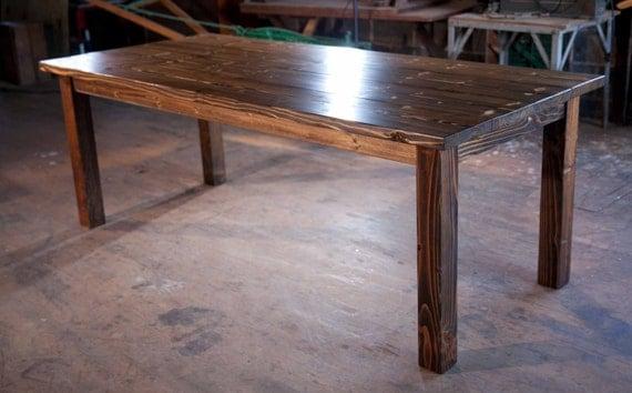 8 39 solid wood farmhouse table farmhouse dining table