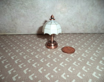 1:12 scale Dollhouse Miniature LED Battery operated Lamp