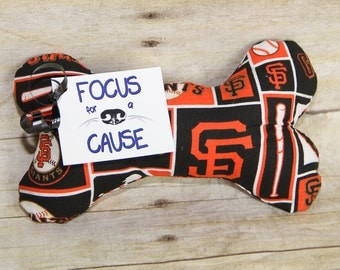 San Francisco Giants, Dog Toy or YOU PICK the TEAM Dog Squeaky Toy, Dog Toy, Dog Bone, Squeaky Toy, Sports, Baseball, Football, College