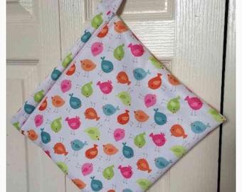 WET BAG SALE!!! Wet bag for Cloth diaper & ect. -Waterproof, Washable, Reusable.