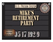 Police Line Up Party Sign Set Personalized Printables Custom Bachelorette Bachelor Date Photo Booth Prop Prohibition Speakeasy Roaring 20s