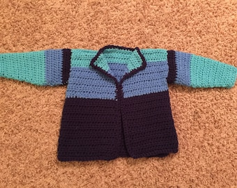 Vintage Hand Knit Children's Sweater - 2T