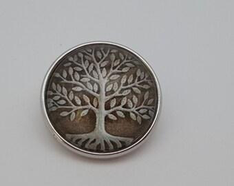 Glass Popper Snap Tree Snap Jewelry