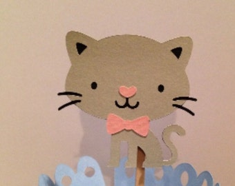Kitty Cat Cupcake Topper