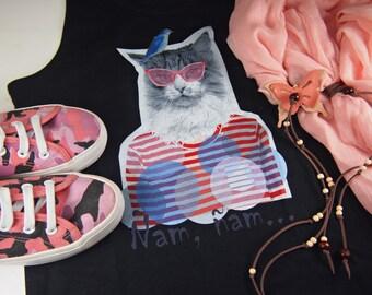T-shirt suspenders swimmer