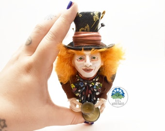 The MAD HATTER. Alice Through the Looking Glass inspired. Tim Burton OOAK. Alice in Wonderland.