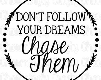 Follow Your Dreams Clipart Bless This Mess...