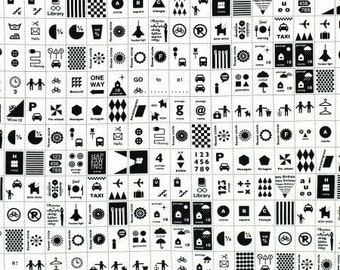 Lecien-Stamps in Black and White -  by Kumiko Fujita