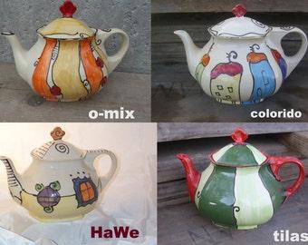 """Teapot  """"sechseck"""""""
