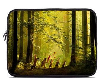 Laptop Sleeve Bag Case - Secret Parade by Aimee Stewart - Neoprene Padded - Fits MacBooks + More