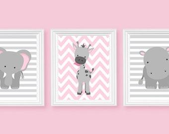 elephant nursery art etsy