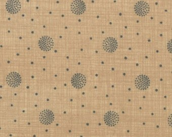 """Moda Quilt Fabric - French General  - Petite Odile - Faded Denim Dot Print 13618-13 - 45"""" x 60"""""""