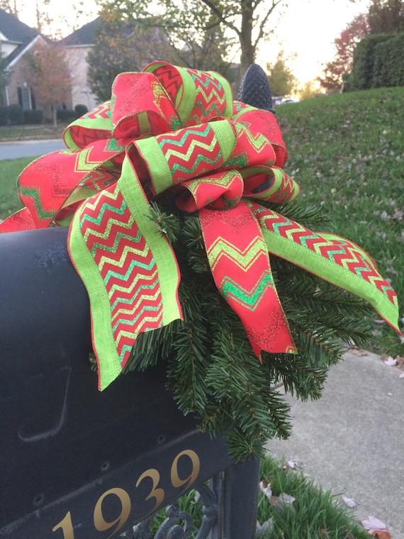 Mailbox Christmas Swag