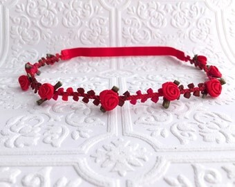 The Red Sophie Headband