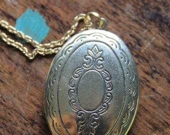 Upcycled locket