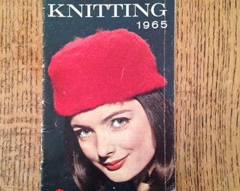 Vintage Patons Knitting Pattern Booklet 1965