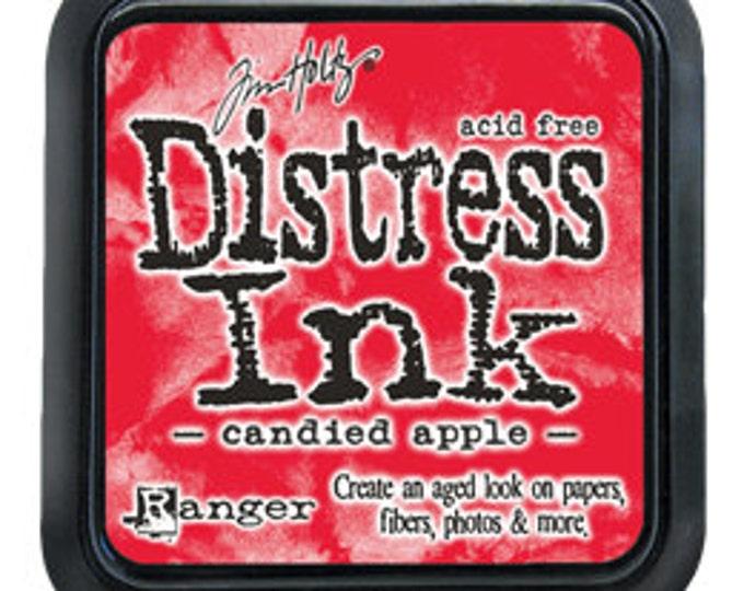 Tim Holtz 3x3 Distress Ink Pad - Candied Apple - December 2015