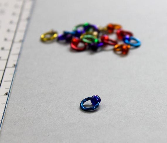 Knitting Markers Uk : Mini stitch markers lace knitting supplies snag free