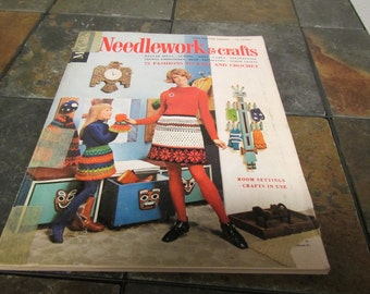 vintage  Fall and Winter 1968 - 69  McCall's NEEDLEWORK & CRAFTS magazine