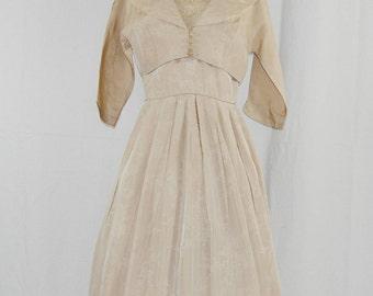 1950's Fleur // Sheath Dress Set