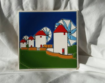 Handmade Tile of Holland