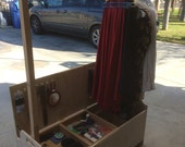 Plywood Camp Closet and Storage Chest. 24 x 18 x 48