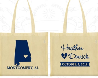 Tote Bag Personalized, Tote Bags, Wedding Tote Bags, Personalized Tote Bags, Custom Tote Bags, Wedding Bags, Wedding Favor Bags (100)