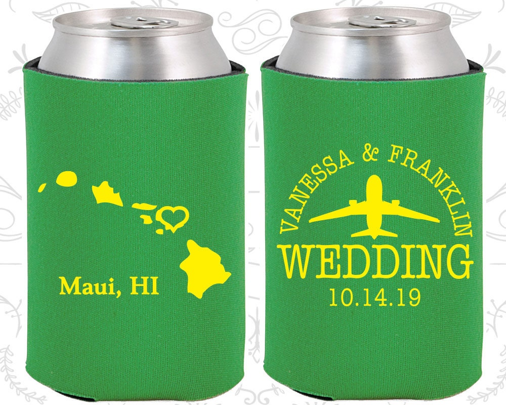 Hawaiian Wedding Gift Ideas: Hawaii Wedding Gifts Coolies Destination Wedding Favors