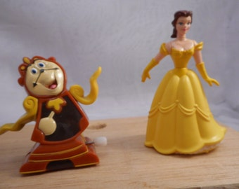 1992 Burger King Kids Club  Beauty and Beast toys