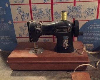 Vintage Holly Hobbie Toy Sewing Machine