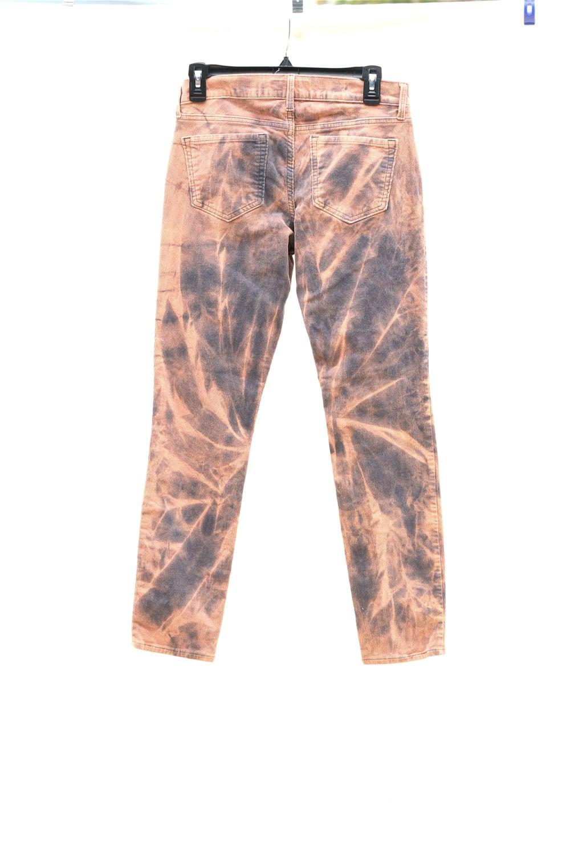 Upcycled Tie Dye Corduroy Pants, OOAK Repurposed Bottoms, Hippie ...