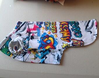 Graffiti frog  Top -Cat clothing