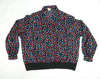 Vintage Polka Dot Blouse...