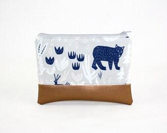 MIDI bag - bear copper