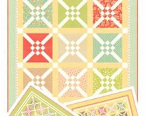 Quilting Pattern - Crosscheck Pattern FTQ# 1032 by Fig Tree & Co - to pair with Moda's Strawberry Fields Revisited fabric