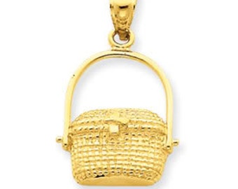 Nantucket Basket Pendant (JC-671)