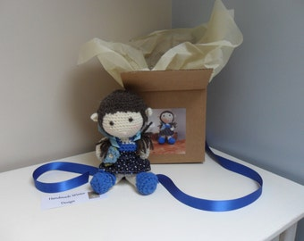 Amigurumi Crocheted Fairy Dolls