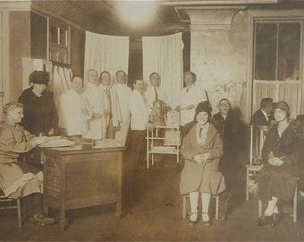 1920's Doctors Office 10 x 8 Photograph - Free Shipping