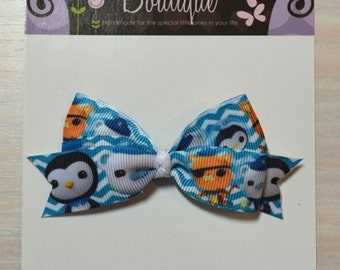 Boutique Style Hair Bow - Octonauts 3